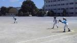 練習試合(VS上条スポーツ少年団C)